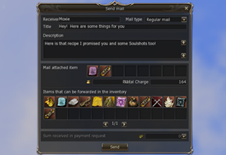 Lineage 2 Mail System